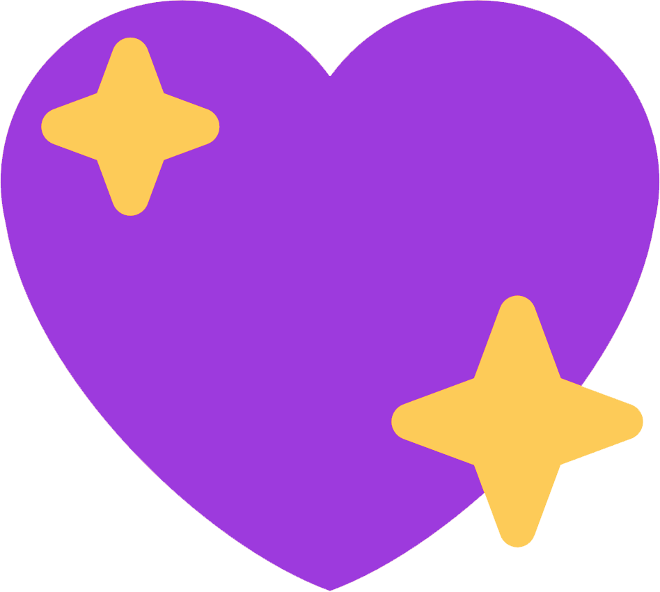 :purple_sparkling_heart:
